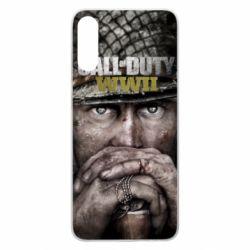 Чехол для Samsung A70 Call of Duty WWII