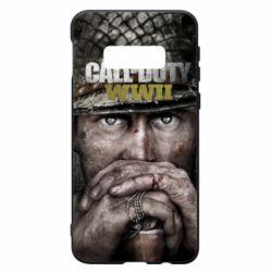 Чехол для Samsung S10e Call of Duty WWII