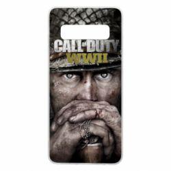 Чехол для Samsung S10 Call of Duty WWII