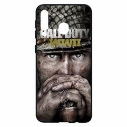Чехол для Samsung M30 Call of Duty WWII