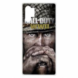 Чехол для Samsung Note 10 Plus Call of Duty WWII