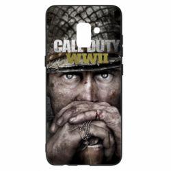 Чехол для Samsung A8+ 2018 Call of Duty WWII
