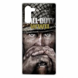 Чехол для Samsung Note 10 Call of Duty WWII