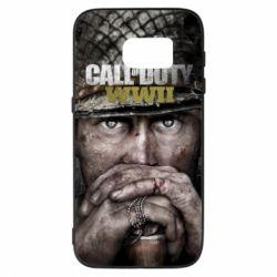 Чехол для Samsung S7 Call of Duty WWII