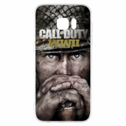 Чехол для Samsung S7 EDGE Call of Duty WWII