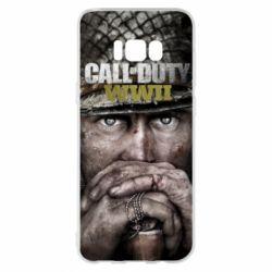 Чехол для Samsung S8+ Call of Duty WWII