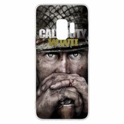 Чехол для Samsung S9 Call of Duty WWII