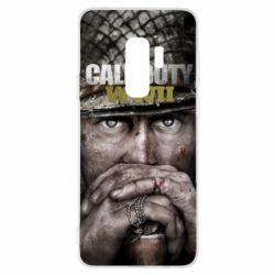 Чехол для Samsung S9+ Call of Duty WWII