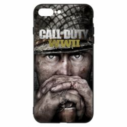 Чехол для iPhone 8 Plus Call of Duty WWII