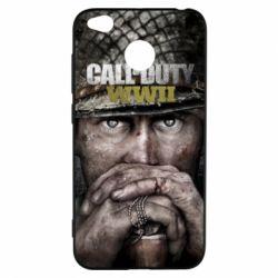 Чехол для Xiaomi Redmi 4x Call of Duty WWII