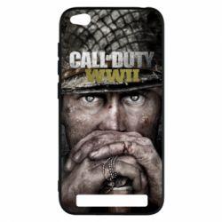 Чехол для Xiaomi Redmi 5a Call of Duty WWII
