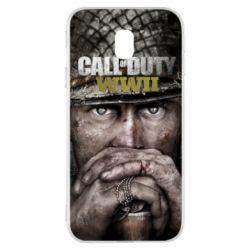 Чехол для Samsung J3 2017 Call of Duty WWII