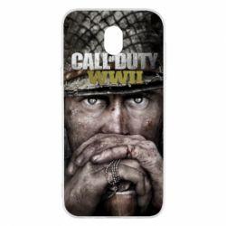 Чехол для Samsung J5 2017 Call of Duty WWII