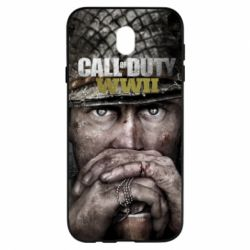 Чехол для Samsung J7 2017 Call of Duty WWII