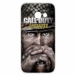 Чехол для Samsung A3 2017 Call of Duty WWII