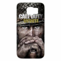 Чехол для Samsung S6 Call of Duty WWII