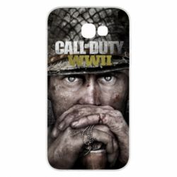 Чехол для Samsung A7 2017 Call of Duty WWII