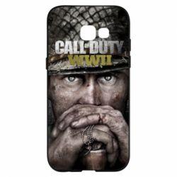 Чехол для Samsung A5 2017 Call of Duty WWII