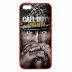 Чехол для iPhone5/5S/SE Call of Duty WWII