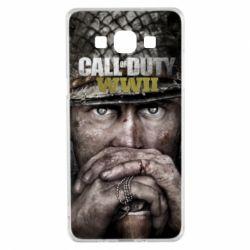 Чехол для Samsung A5 2015 Call of Duty WWII