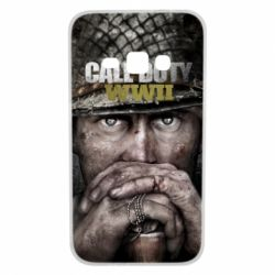 Чехол для Samsung J1 2016 Call of Duty WWII