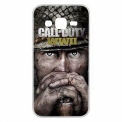 Чехол для Samsung J2 2015 Call of Duty WWII