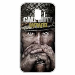 Чехол для Samsung J2 2018 Call of Duty WWII
