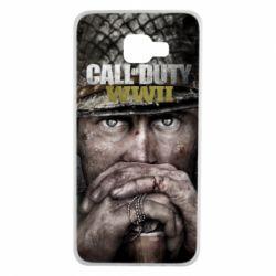 Чехол для Samsung A7 2016 Call of Duty WWII