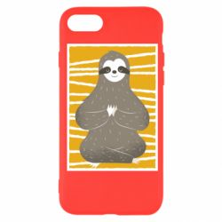 Чехол для iPhone 7 Calm sloth