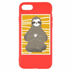 Чехол для iPhone 8 Calm sloth