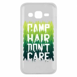 Чехол для Samsung J2 2015 Camp hair don't care