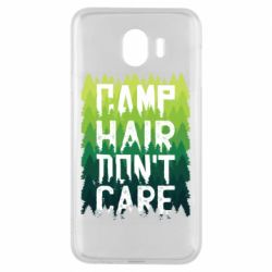 Чехол для Samsung J4 Camp hair don't care