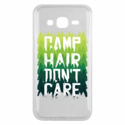 Чехол для Samsung J5 2015 Camp hair don't care