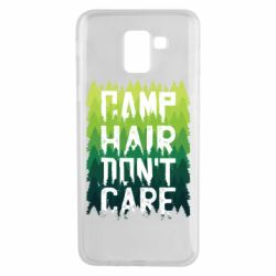 Чехол для Samsung J6 Camp hair don't care