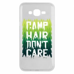 Чехол для Samsung J7 2015 Camp hair don't care