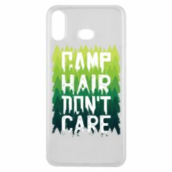 Чехол для Samsung A6s Camp hair don't care