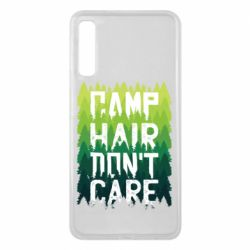Чехол для Samsung A7 2018 Camp hair don't care