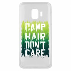 Чехол для Samsung J2 Core Camp hair don't care