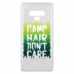 Чехол для Samsung Note 9 Camp hair don't care