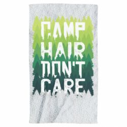 Полотенце Camp hair don't care