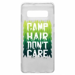 Чехол для Samsung S10+ Camp hair don't care