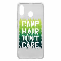 Чехол для Samsung A20 Camp hair don't care