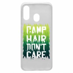 Чехол для Samsung A40 Camp hair don't care