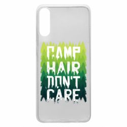 Чехол для Samsung A70 Camp hair don't care
