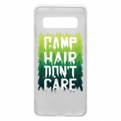 Чехол для Samsung S10 Camp hair don't care
