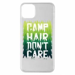 Чехол для iPhone 11 Pro Max Camp hair don't care