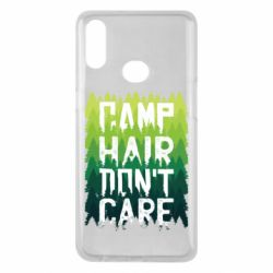 Чехол для Samsung A10s Camp hair don't care