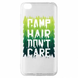 Чехол для Xiaomi Redmi Go Camp hair don't care