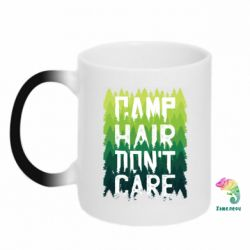 Кружка-хамелеон Camp hair don't care