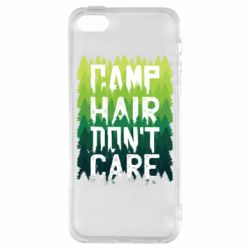 Чехол для iPhone5/5S/SE Camp hair don't care
